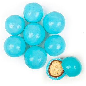 Premium Gourmet Light Blue Milk Chocolate Malted Milk Balls