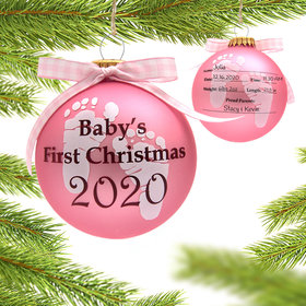 2020 Baby's 1st Ornament