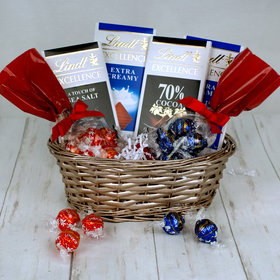 Lindt Chocolate Gift Basket