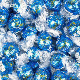 Lindor Blue Sea Salt Milk Chocolate Truffles