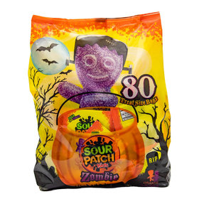 Sour Patch Zombies 80ct Bag