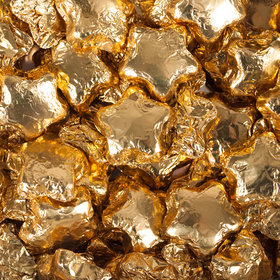 Madelaine Milk Chocolate Stars Gold Foil