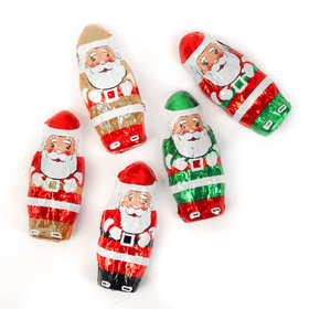 Madelaine Christmas Milk Chocolate Mini Santas