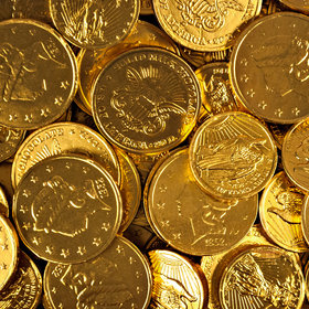 Madelaine Milk Chocolate Gold Coins