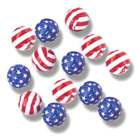 Madelaine Milk Chocolate Patriotic Balls
