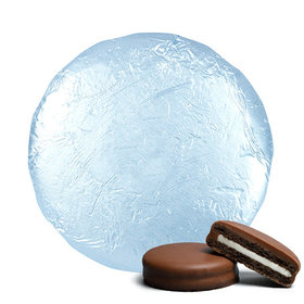 Light Blue Chocolate Covered Oreos