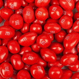 Peanut M&Ms Candies - Red