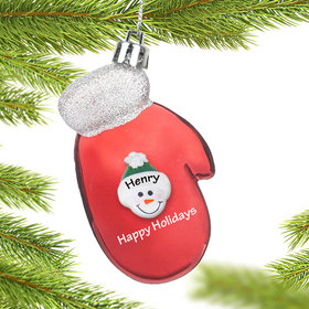 Red Mitten Ornament