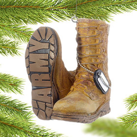 Military Boots (Army) Ornament