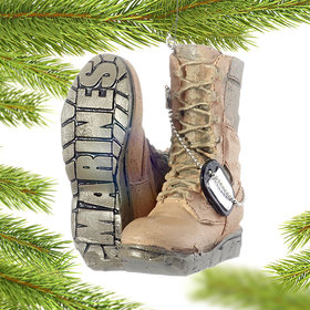 Military Boots (Marines) Ornament