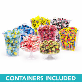 Nostalgic Deluxe Candy Buffet - Containers Included