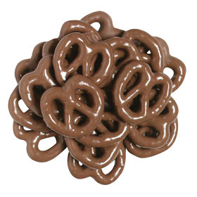 Mini Chocolate Pretzel 15lb Case