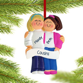 Friends or Sisters Ornament