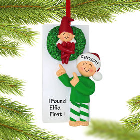 Finding the Elf Ornament