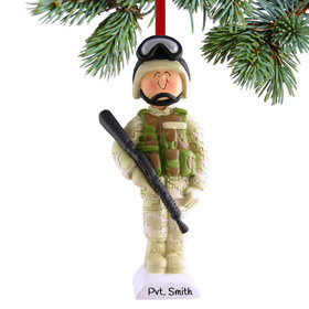 Soldier in Fatigues Ornament