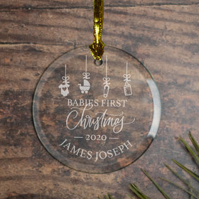 Babies First Ornament
