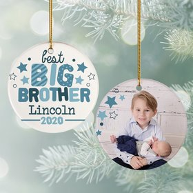 Best Big Brother Photo Ornament