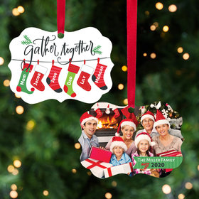 Stocking Family of 6 Ornament