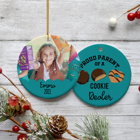 Personalized Cookie Dealer Ornament