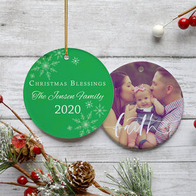 Christmas Blessings Ornament
