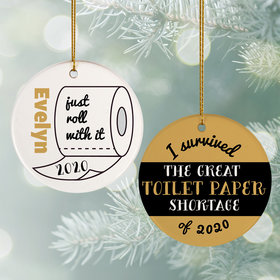 I Survived the Great TP Shortage Ornament