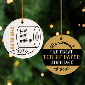 We Survived the Great TP Shortage Ornament