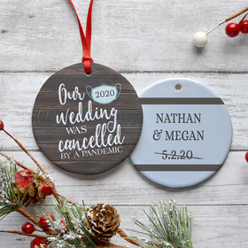 Our Cancelled Wedding Ornament