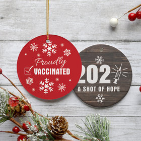 Proudly Vaccinated Ornament