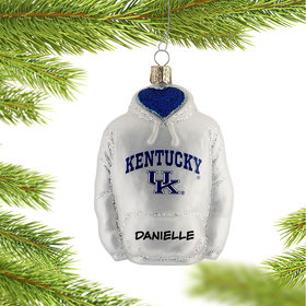 University of Kentucky Hoodie Sweatshirt Ornament