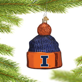University of Illinois Beanie Ornament