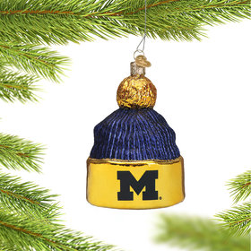 University of Michigan Beanie Ornament