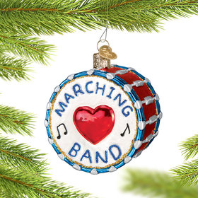 Marching Band Ornament