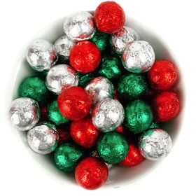 Holiday Milk Chocolate Balls