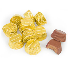 Just Candy Gold Foil Peanut Butter Cups