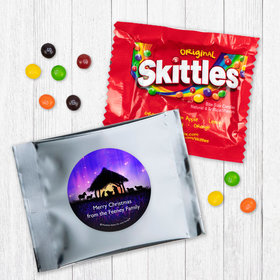 Personalized Christmas Holy Night Skittles