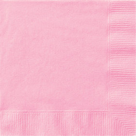 Light Pink Luncheon Napkins (20 Count)