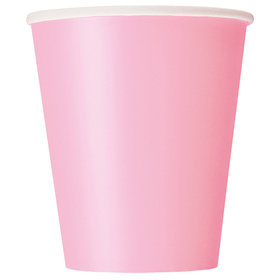 Light Pink 9oz Cups (14 Count)