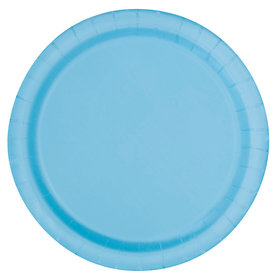 Light Blue Luncheon Plates (16 Count)