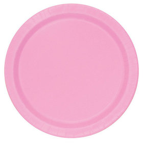 Pink Cake Plates (20 Count)