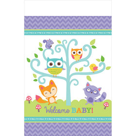 Woodland Welcome Table Cover (each)