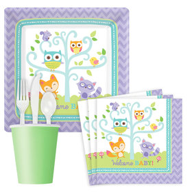 Woodland Welcome Standard Party Kit Serves 8