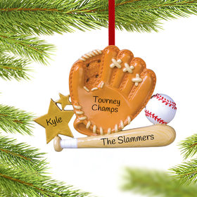 Baseball Sport Glove Ornament