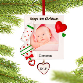 Baby's 1st Picture Frame Ornament Ornament
