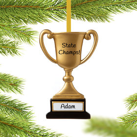Trophy Cup on Stand Ornament