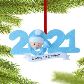 2021 Baby's First Ornament