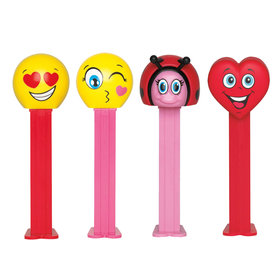 Valentine's Day PEZ Candy Packs (6 Count)