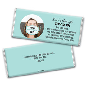 Personalized Pandemic Life Chocolate Bar & Wrapper