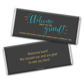 Personalized Back to the Grind Chocolate Bar & Wrapper