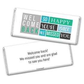 Personalized Happy Blocks Chocolate Bar Wrappers