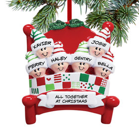 Bed Family 6 Ornament